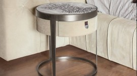 Longhi Amadeus bed side table