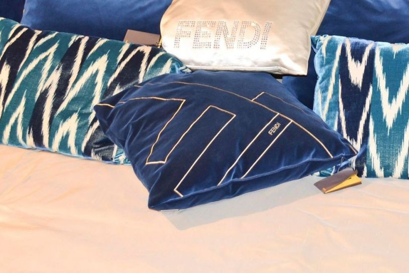 Cuscini Fendi.Cushion 50x50 By Fendi Casa Accessories